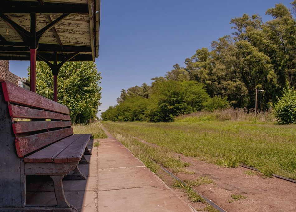 Built Structure No People Outdoors Day Train Station Building Exterior History Argentina Photography Travel Destinations Argentina Uribelarrea