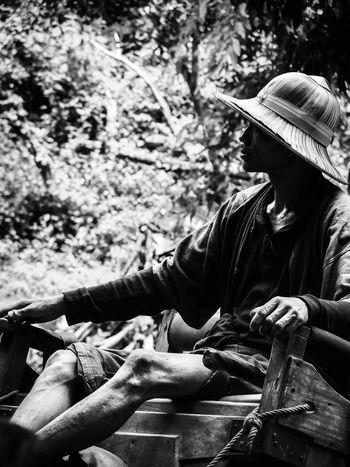 #blackandwhite #cornak #elephant  #people #photography #Thailand #trip