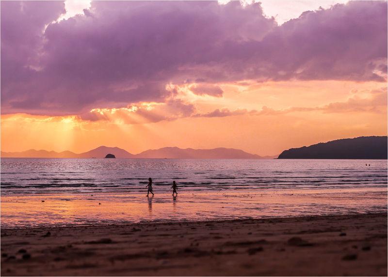 EyeEm Selects EyEmNewHere Justclick Kaushalgokarankar'sphotography Beauty In Nature Sunset Krabi Thailand Travelphotography Landscape Let's Go. Together.