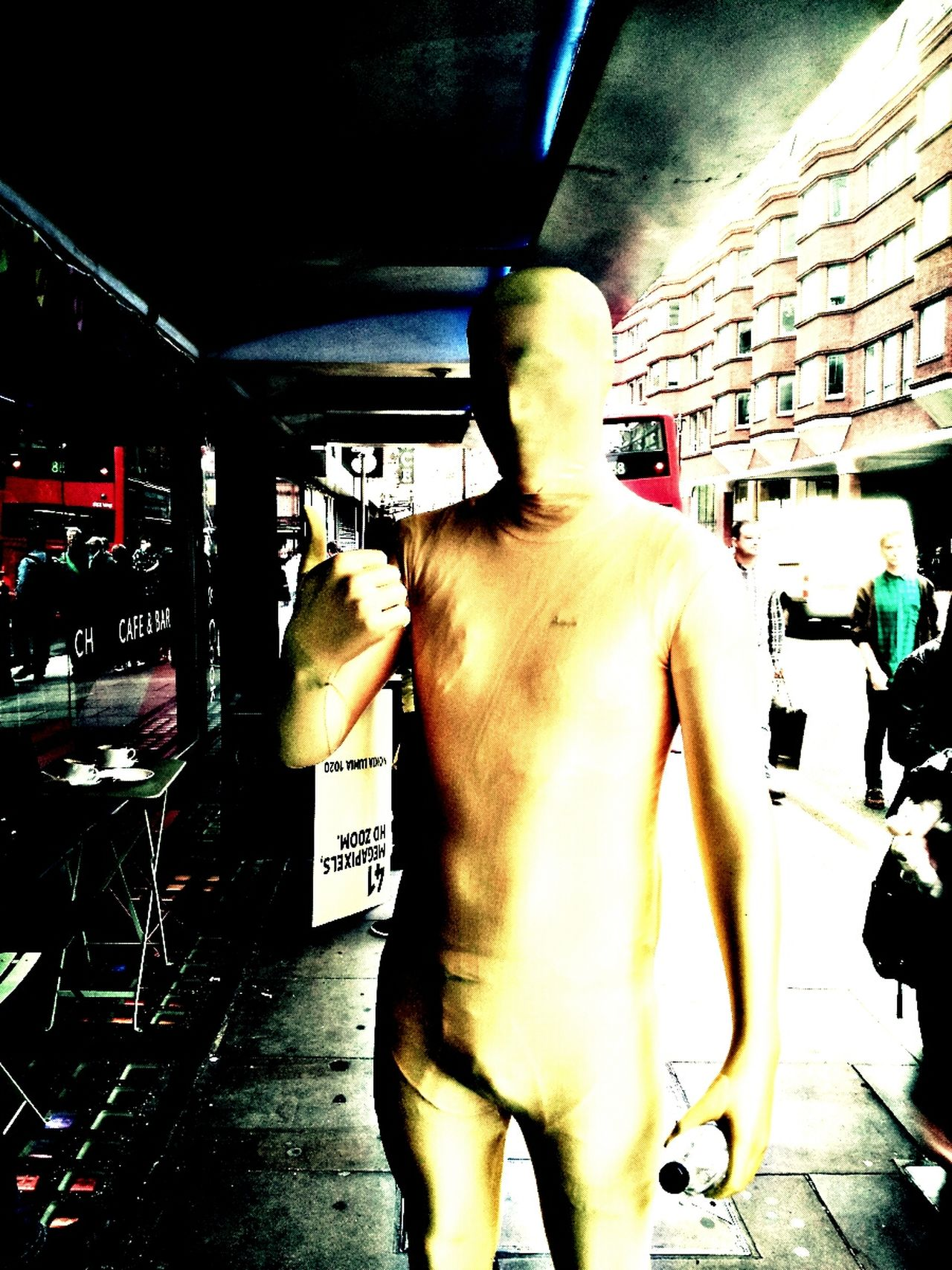 The Day The Earth Stood Still YellowMan
