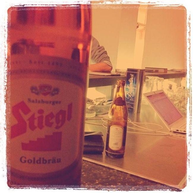 #stiegl beim webmontag - so lob ich mir das... :) #webg Webg Stiegl
