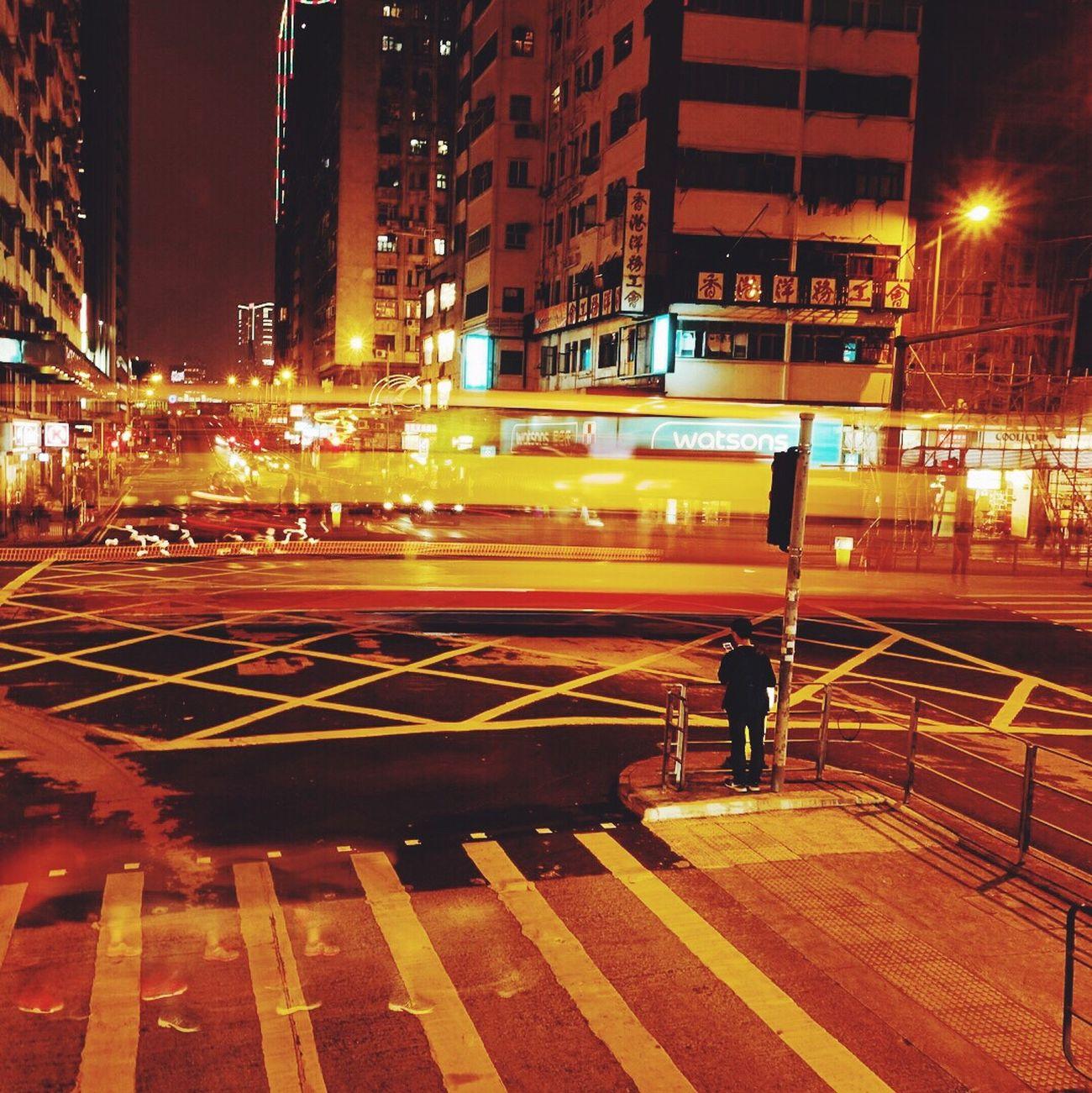 Hk Light 夜景 延时摄影 马路 香港