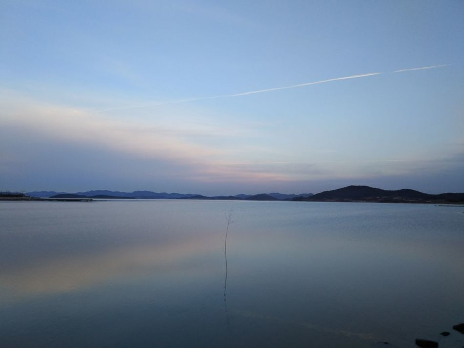 Lake Water Reflection Nature Scenics Beauty In Nature Tranquility Outdoors Sunset Landscape Refraction Sky No People Mountain Day Xiaomi 5S