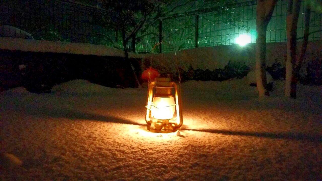 Snow Lamp ランプ 雪