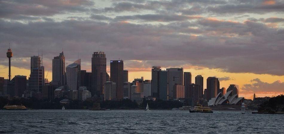 City Sunsets