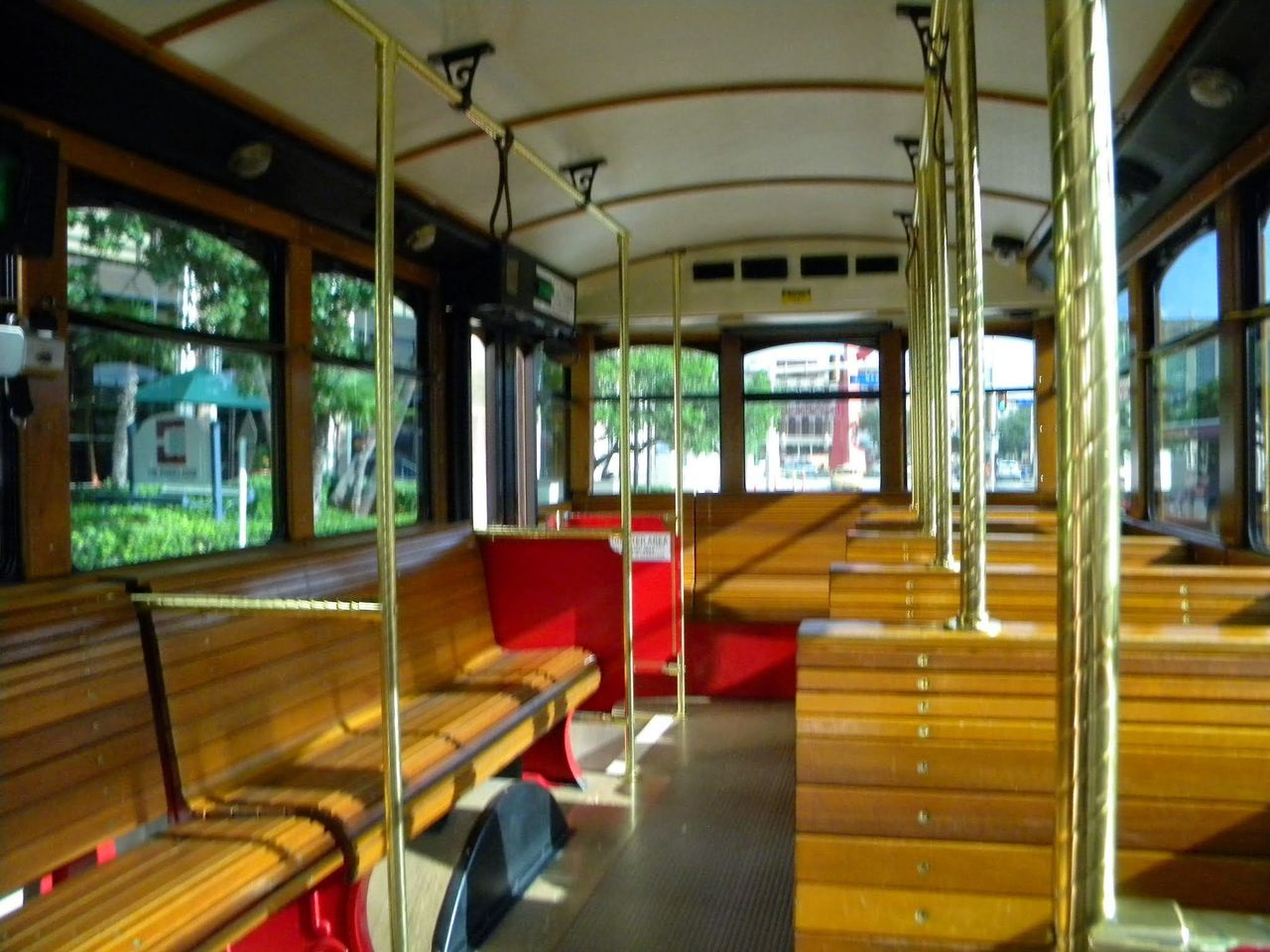 Transportation Public Transportation No People Vehicle Seat San Antonio Trolley Trolleybus Trolley Bus Empty Trolley Let's Go. Together.