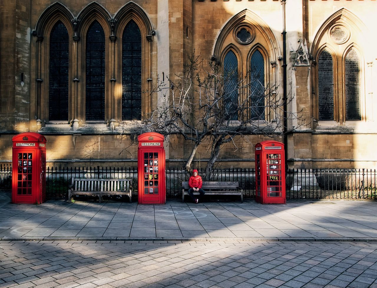When people match places That's Me Taking Pictures City Urbanphotography Urban Taking Photos VSCO London Shoot The People Red Phone Boxes Phone Box Phone Booth United Kingdom The Week On EyeEm