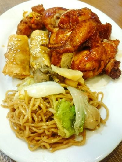 Classicsavory Combo3 Chicken Pancitcanton Turon Saltandpepper Spareribs Yumminess Foodporn Eyeem Philippines