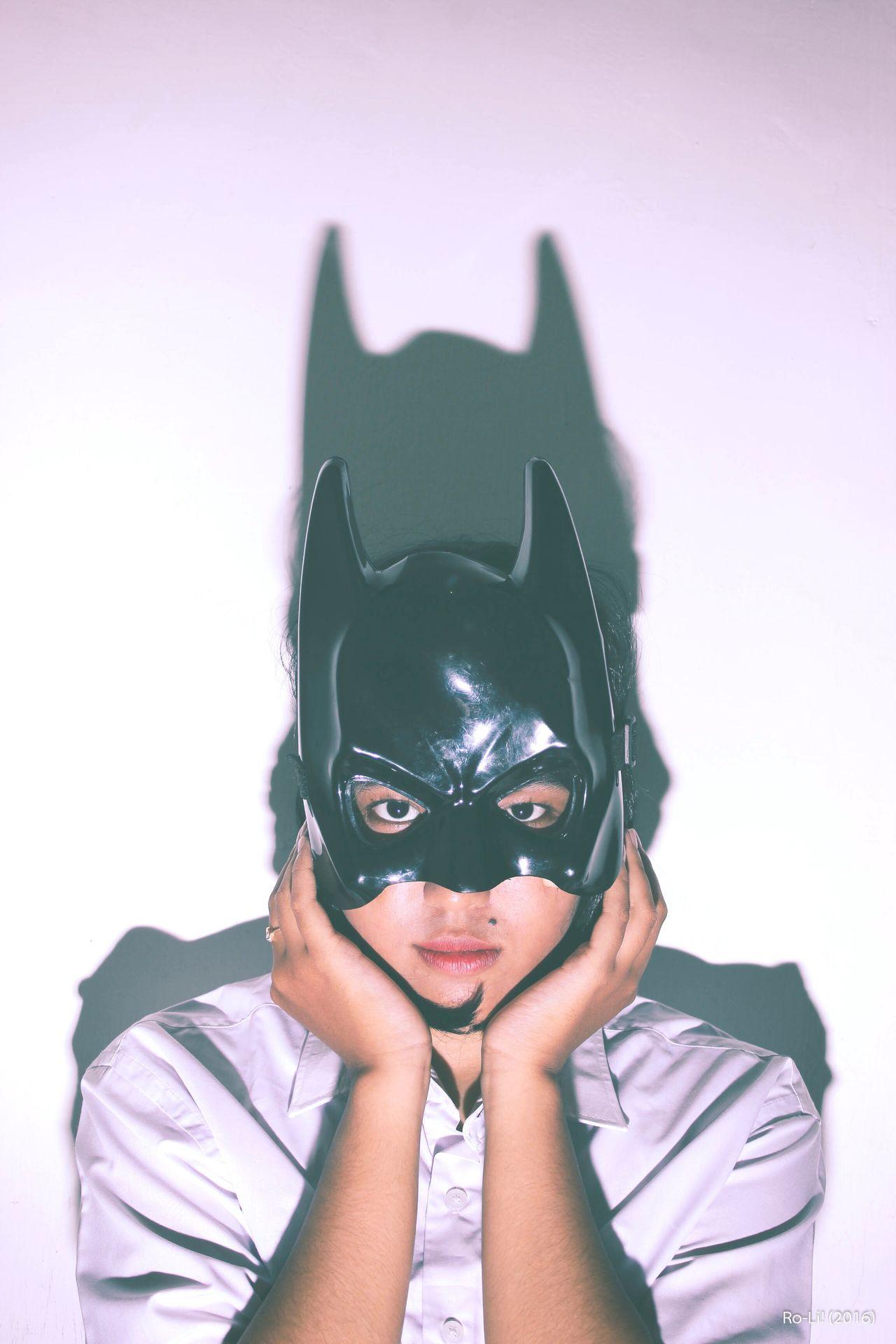 Girl Mask Batman Mask Girl Cover Photo Potrait