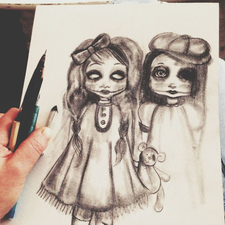 Been drawing again - love my dolls ;)... 8308069 24476 14307 25914