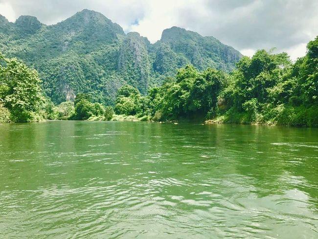 Tree Water Nature Outdoors Mountain Cloud - Sky Sky Kayak