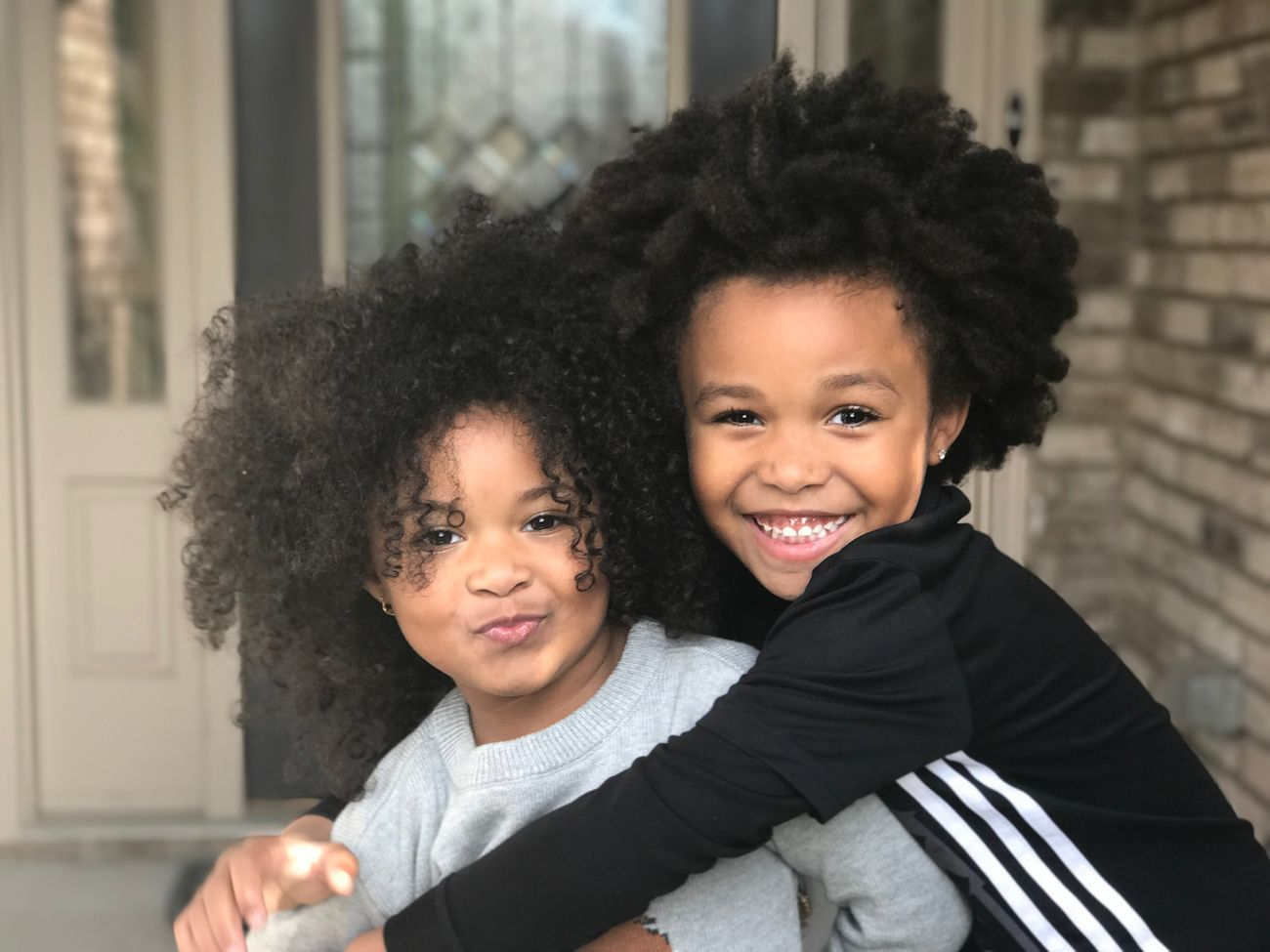 #TurnUps Turnuptwins Cutekids Big Brother Little SisterCurly Hair Happiness Togetherness Actor Family Headshot Child Smiling Portrait Close-up