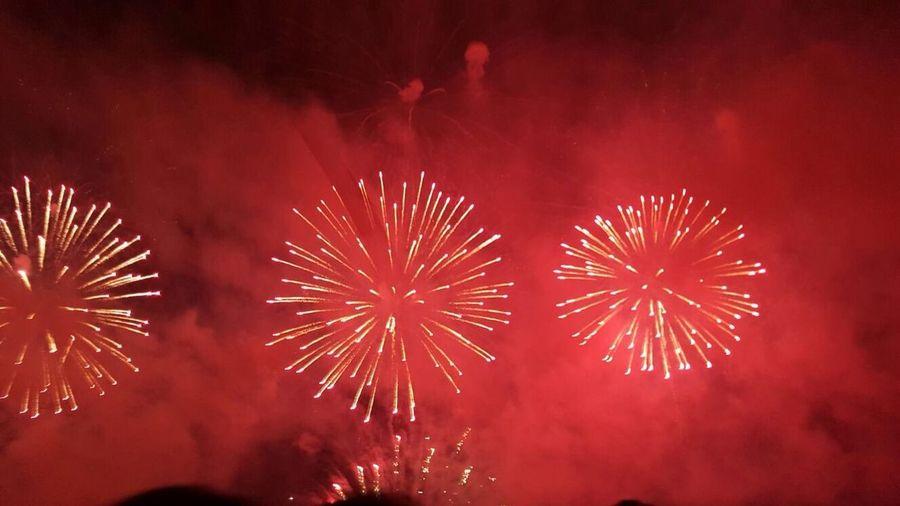 Colored Fire Works Festas Populares FogosDeArtificio Fire In The Sky Firework Display Festejos Fireworksphotography Hello World