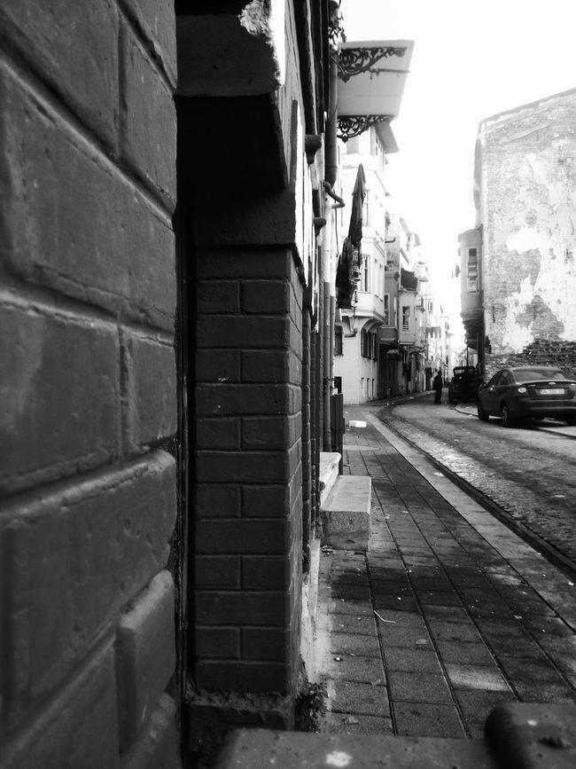 Black & White Balat Sokakları ✌✌ Istanbul Turkey First Eyeem Photo
