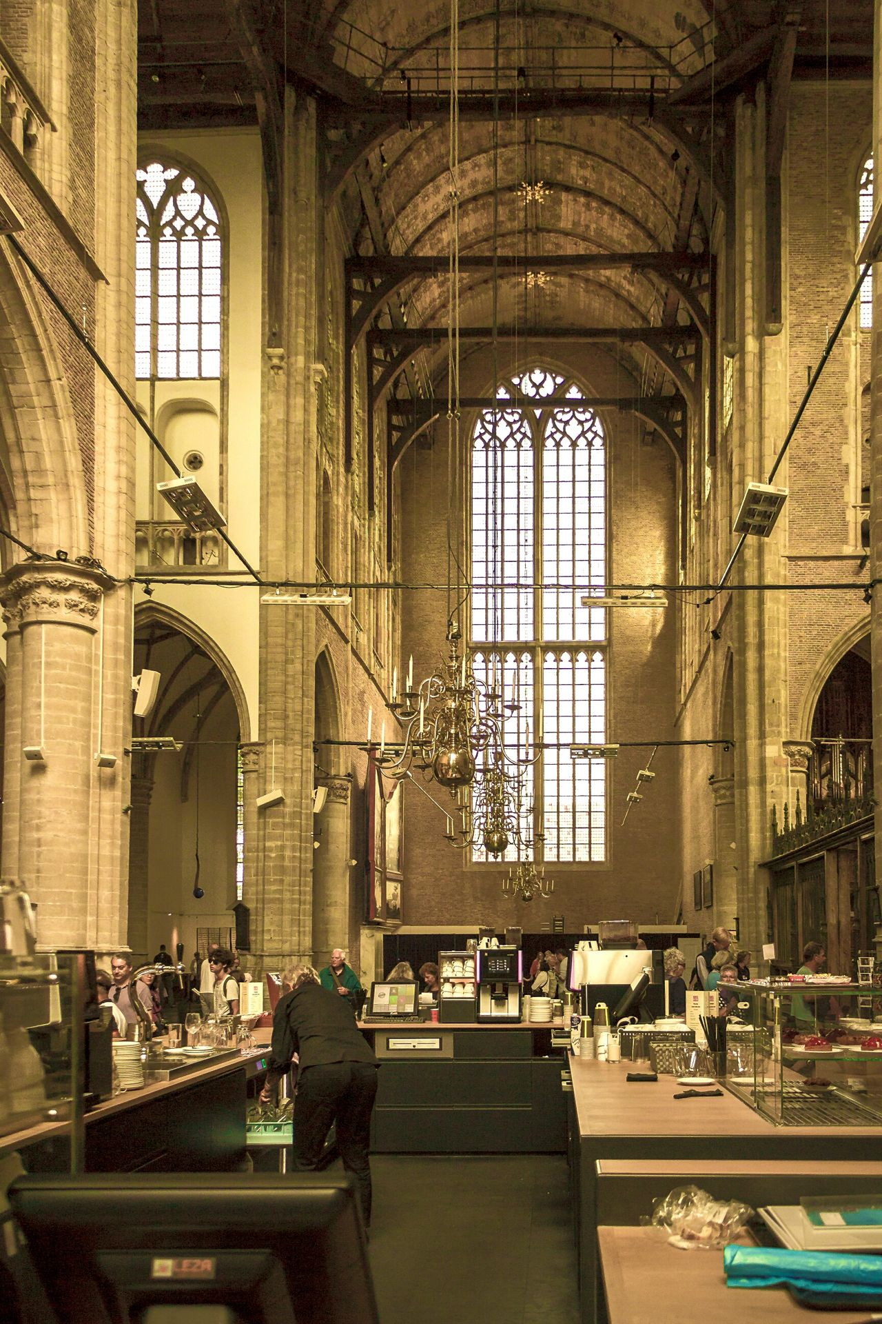 Cofeshop within Church in AlkmaarArchitecture No People My Year My View Church Cafe Nicospecial.de Indoors  Built Structure Alkmaar Architecture No People Travel Travel Destinations Arch Day Cofeshop The Street Photographer - 2017 EyeEm Awards