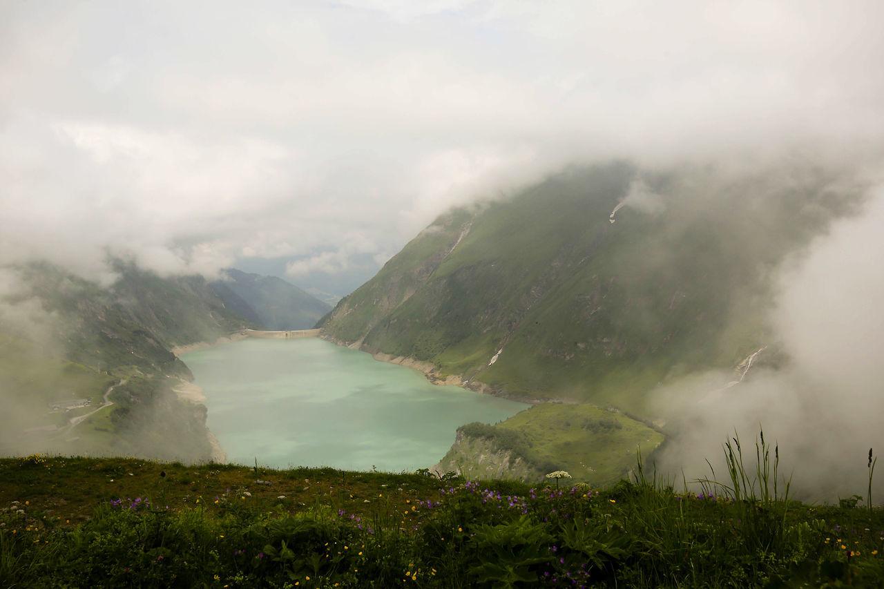 Alps Austria Austria ❤ Austrian Alps Cloud - Sky Cloudy Fog Foggy Mooserboden Mountain Stausee Stausee Mooserboden