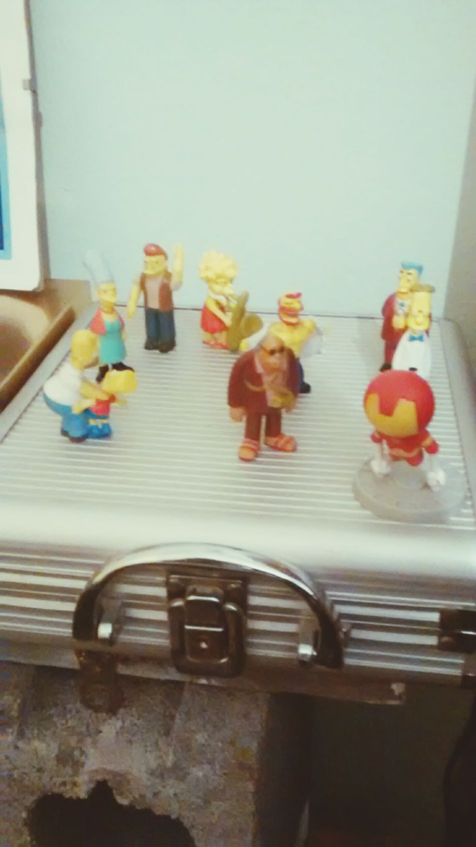 Mi pequeña Nacion Simpsons y un Ironman para proteger TheSimpsons