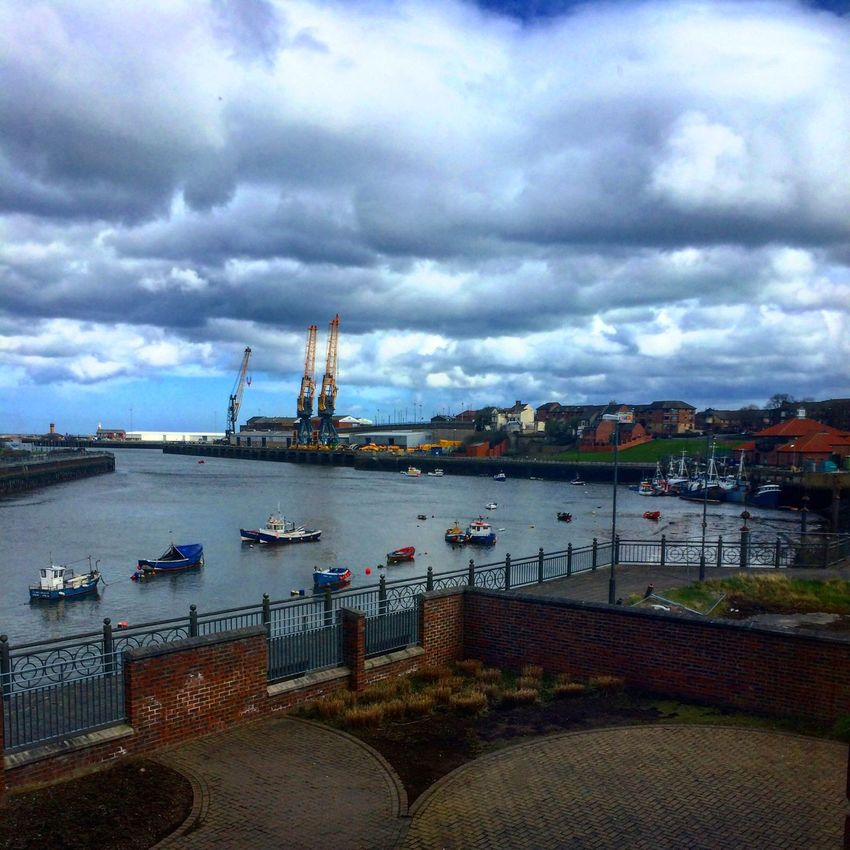 Here Belongs To Me England Sunderland River View Panns Bank Student Accommodation Room View Student Student Life Addicted To Photography Easter Artist Spring Art, Drawing, Creativity Youth Photoshooting Feelings Sunderland Port Boats⛵️