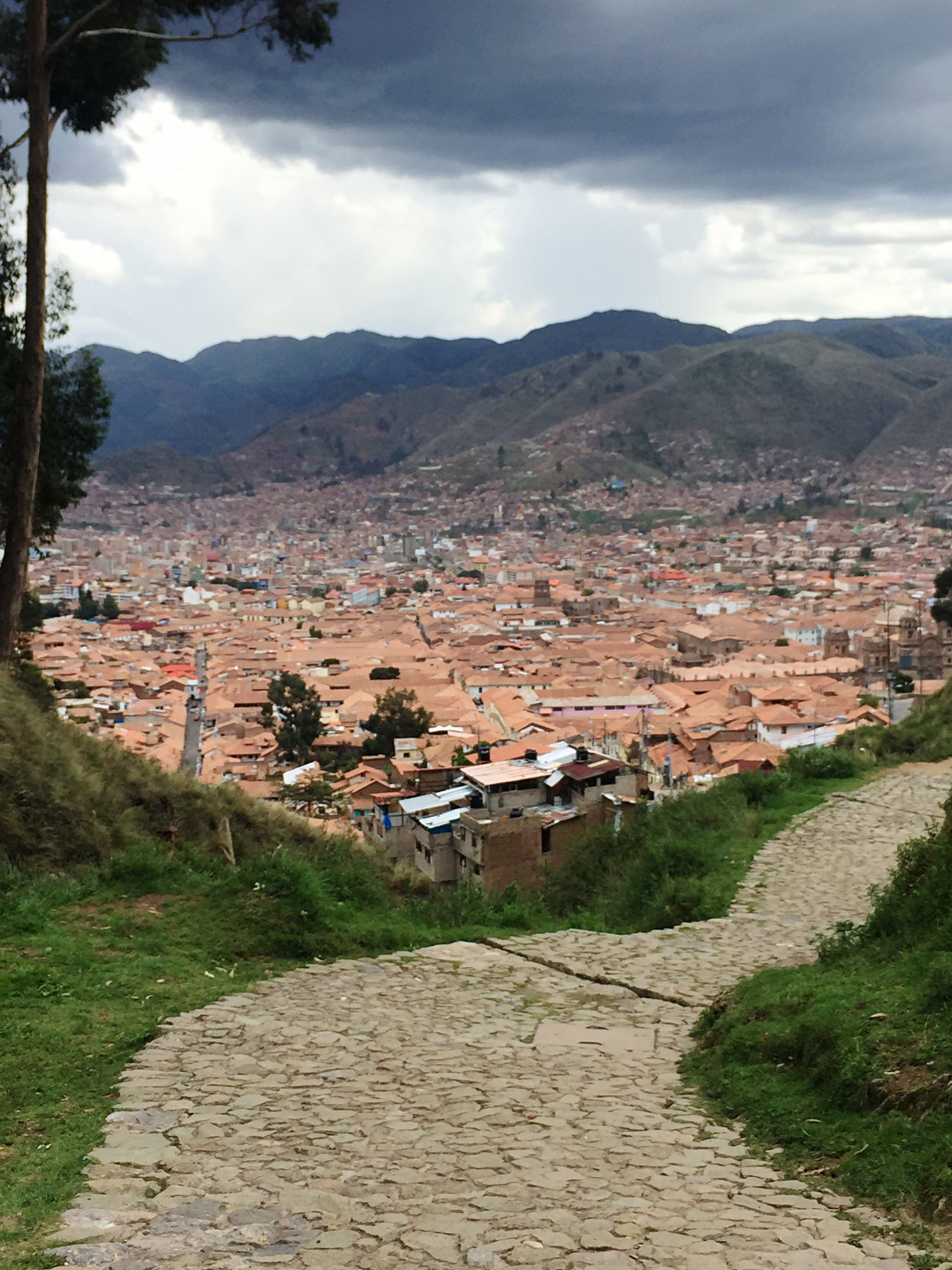 Yes, we had to walk a lot to get to the hotel. Sacsayhuaman Cusco, Peru Mountain Sky Outdoors 2016 Photo