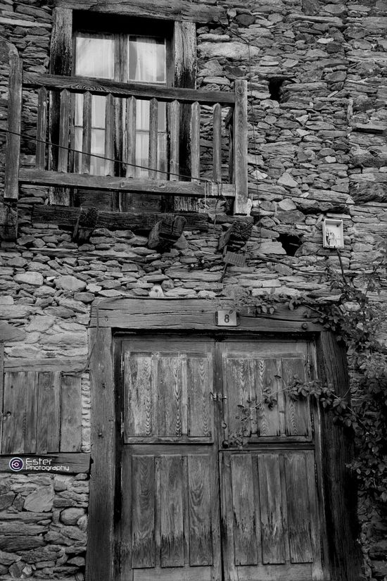 Black And White Windows Eye4photography  Old Door