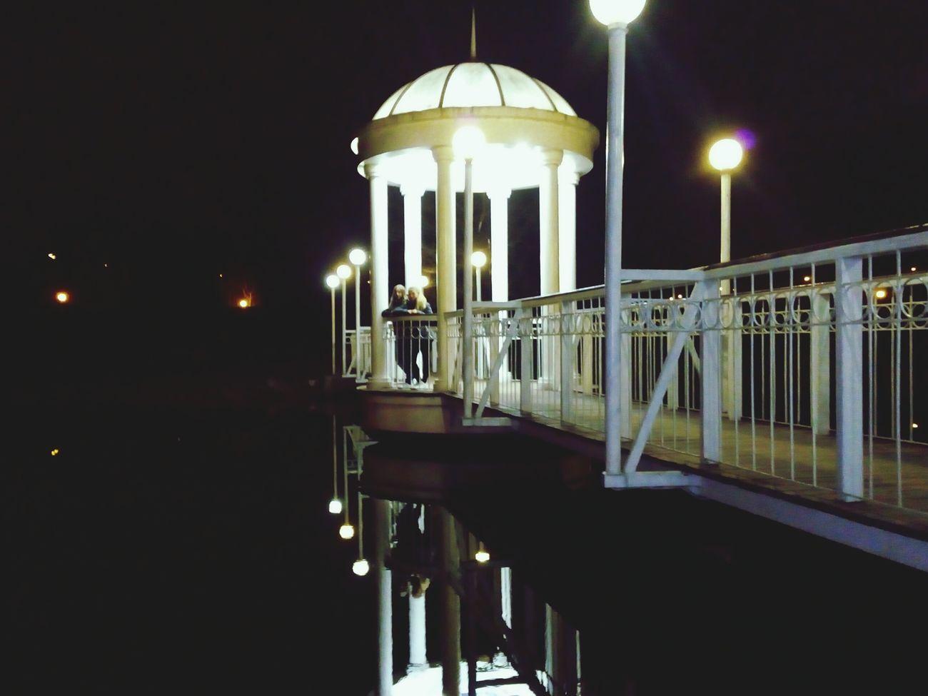 Illuminated Water Architecture Night Remember ✨ 😚