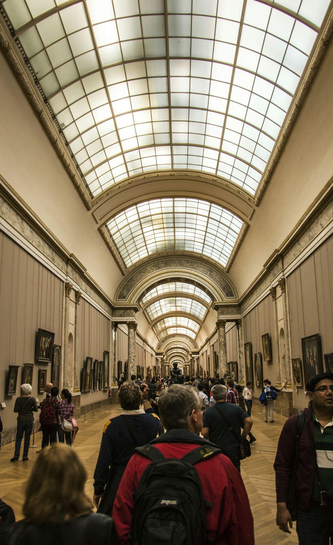 Geometric Shapes inside Museum Louvre Musse Du Louvre France Paris ❤