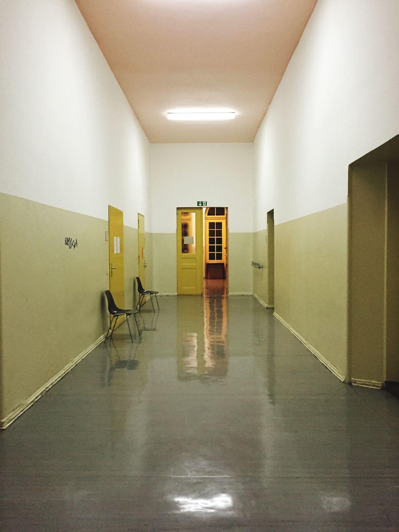 Hallway Minimalism Simplicity Interior Design Architecture