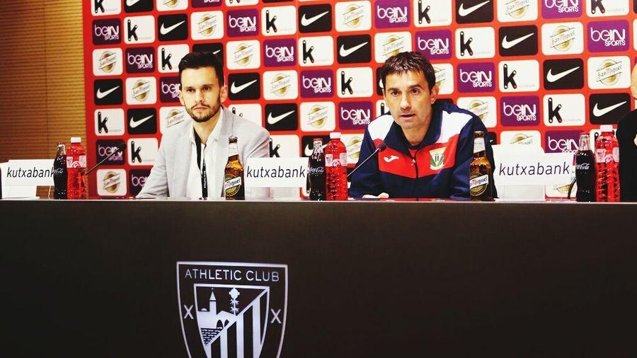 BilbaoAthletic Ruedadeprensa AsierGaritano CDLeganes BATvLEG Estadio San Mamés Ligaadelante Temporada 2015-16 Soccer Futbol