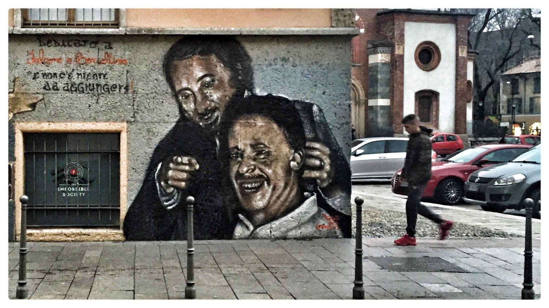 Streetphotography Streetphoto_color Street Photography Street Art/Graffiti Wall Art Painting Falcone Borsellino Falconeeborsellino
