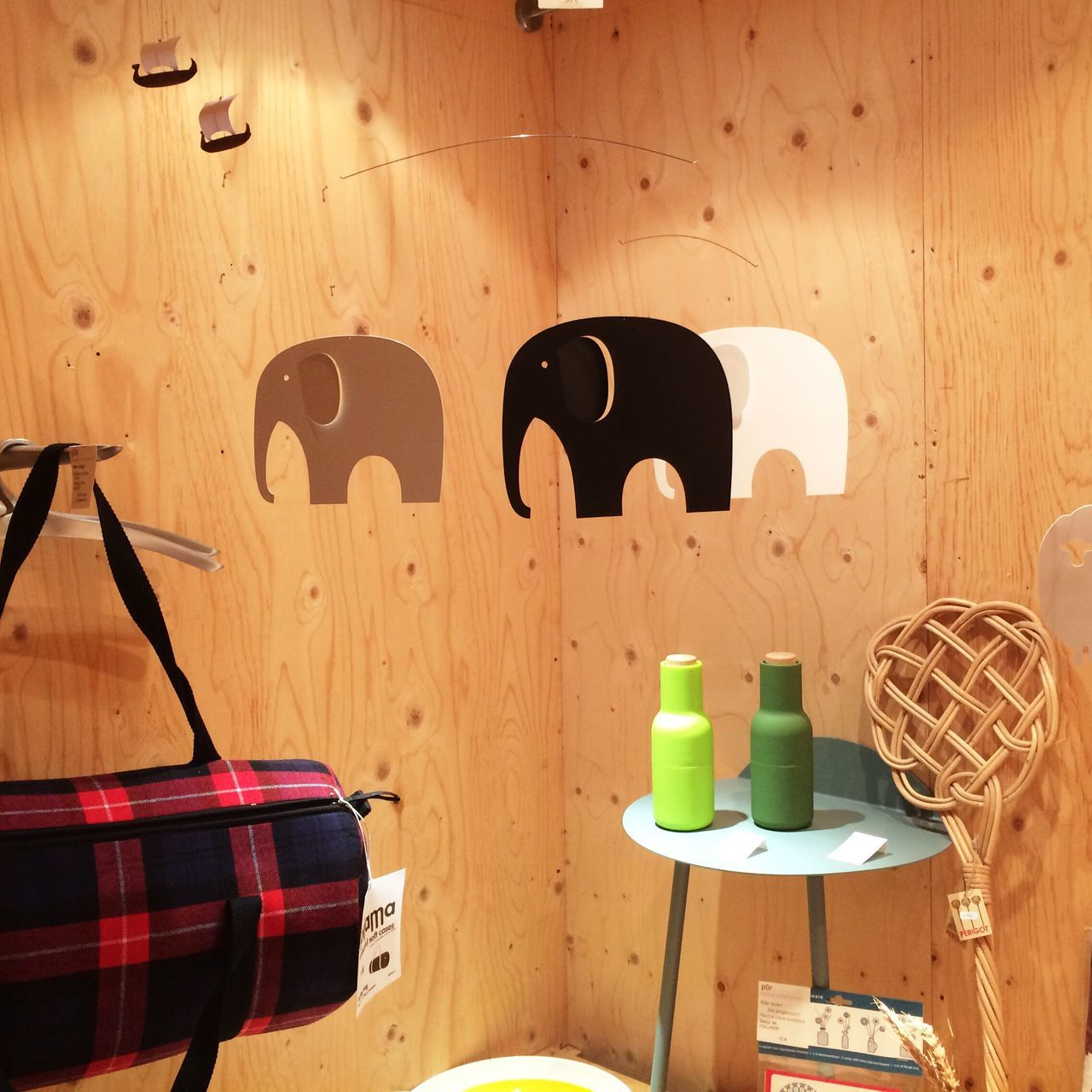3 Elephants Always Be Cozy Wood - Material Indoors  Day No People Lifestyle Design Interior Design Interior Interior Views