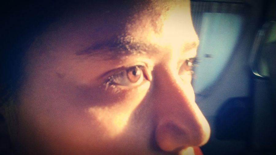 My eye Concentrate Eye Light Rimlight Golden Strong Sunshine Shadows & Lights