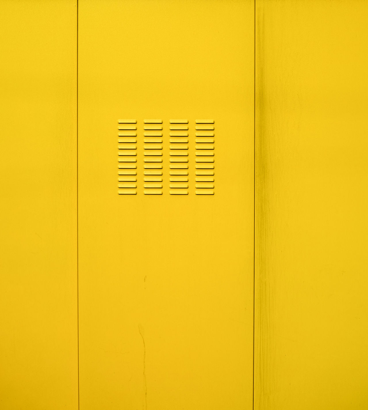 Quittengelb Abstract Door Gelb Geometry Lüftung Metal Q Quittengelb Tür Venting Slot Yellow