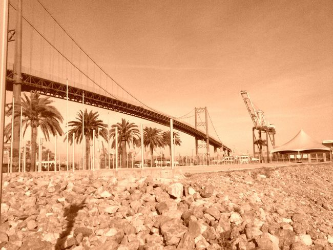 City Of San Pedro Getty&eyeem Bridgeport  Harbor