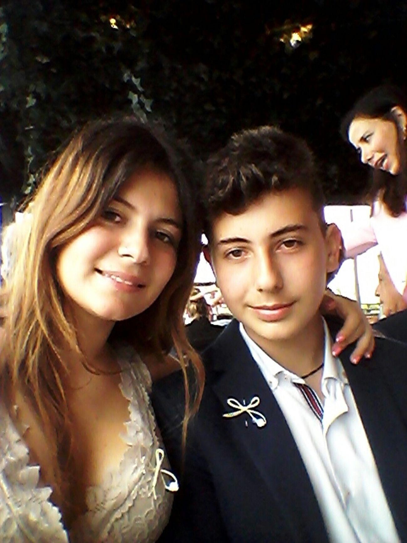 Brother <3 Selfie Kalamaria