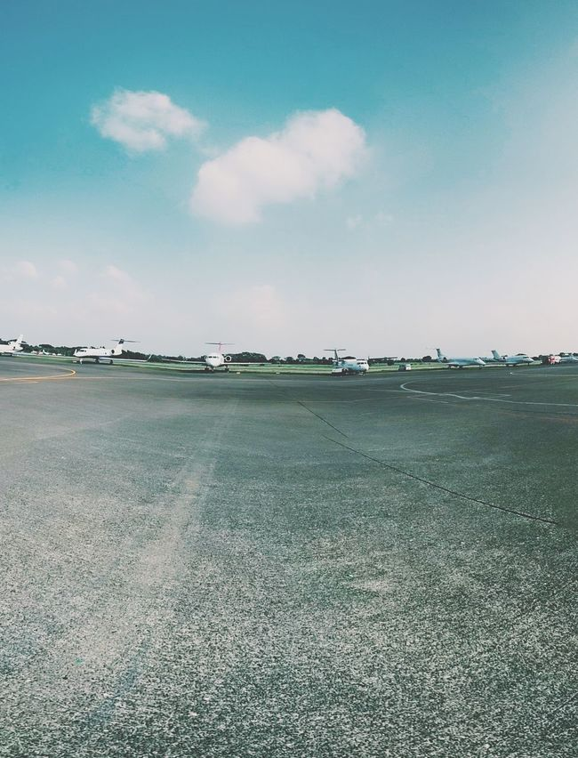 Another runway landscape photo Taking Photos Last-minute Flight Boarding Plane Airport Airport Runway Landscape_photography Mobilephotography