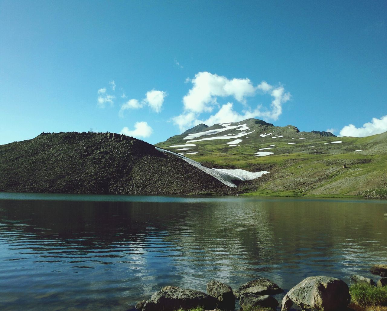 The Environmentalist – 2014 EyeEm Awards Armenia Mount Arakadz Landscape A lake at the top of Mount Arakadz in Armenia!