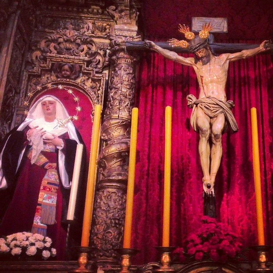 Así lucen Ntra. Sra. De la Presentación y el Stmo. Cristo del Calvario Cuaresma2014