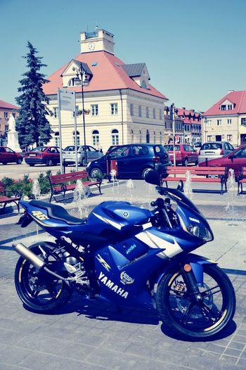 Yamaha With My Friend <3 City Hall Fountain