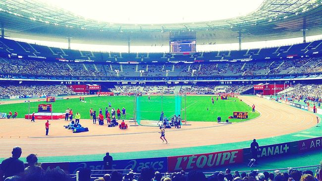 Stade de France ... Great Performance Meeting Areva