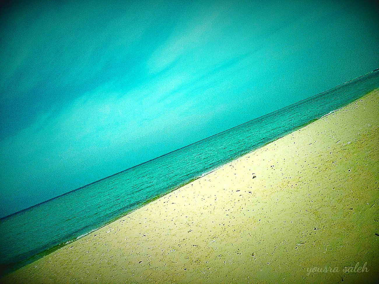 Colour Of Life Here Belongs To Me Sea View Seascape Sea And Sky Blue Sea And Blue Sky Nature Photography Colourful Blue Sea And Clear Water Golden Sand Sand Beach Relaxing Relaxing View Tranquil Scene Memories Nature Nature Colors Ras Sudr Egypt Egypt Smartphonephotography Taking Photos Seaside Viewing Love To Take Photos ❤