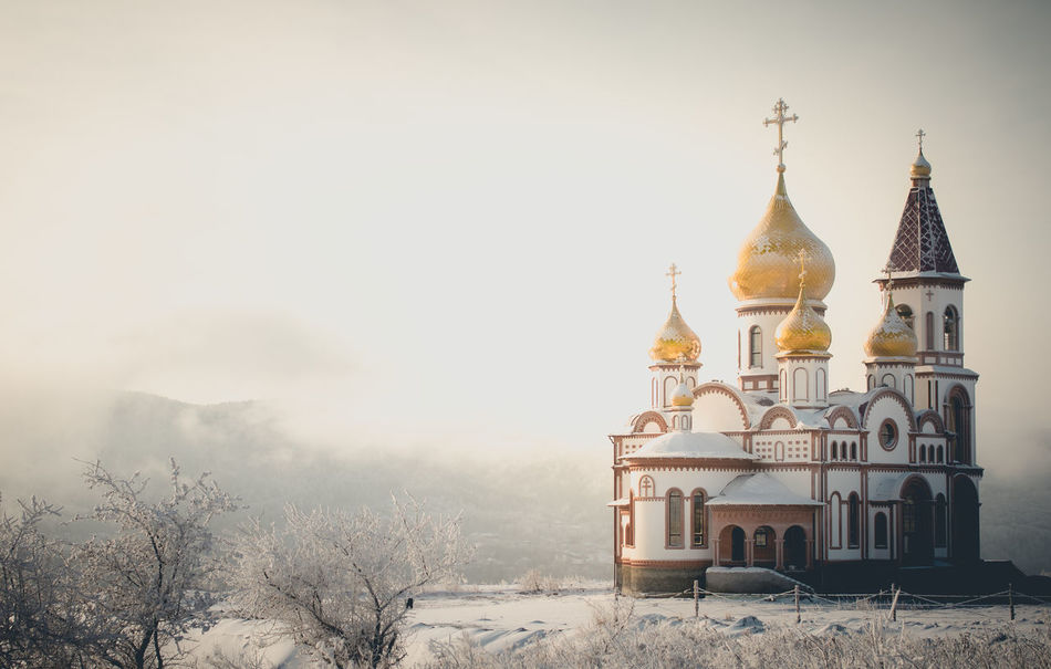 Beautiful stock photos of russia, Architecture, Branch, Building Exterior, Built Structure