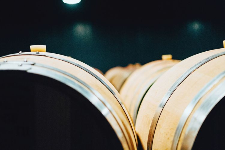 Dramatic Angles Massimiliano Tuveri No People Aging Process Close-up Part Of Selective Focus Focus On Foreground Curve Extreme Close Up Eyeemphoto Stack Old Autumn In A Row Tranquility Wine Cask Winery Wine Cellar Winemaking Natural Condition Wine Not
