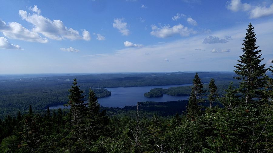 Mont Orford Orford National Park Quebec Canada Canton De L'Est Forest Mountains Mountain Range Mountain View Lake Lake View Trees Hiking Hiking Adventures Hiking Trail
