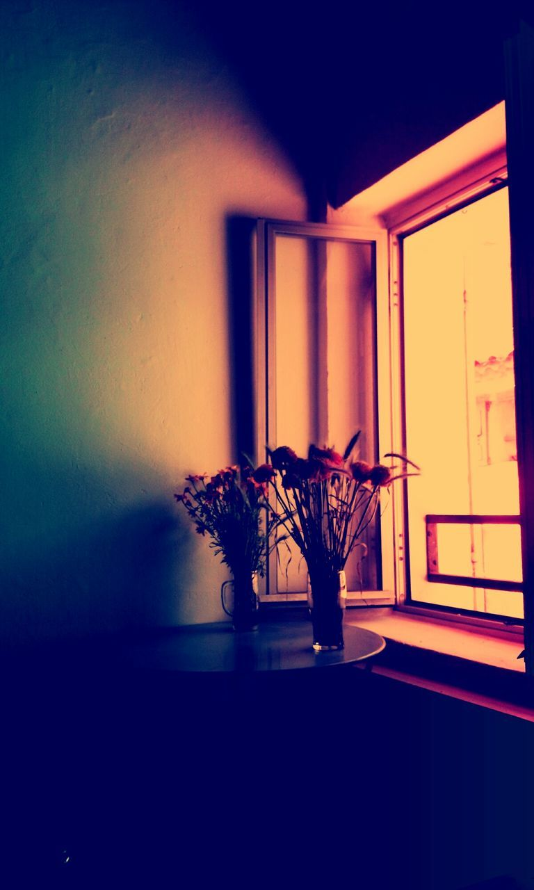 indoors, vase, home interior, table, no people, potted plant, flower, architecture, day