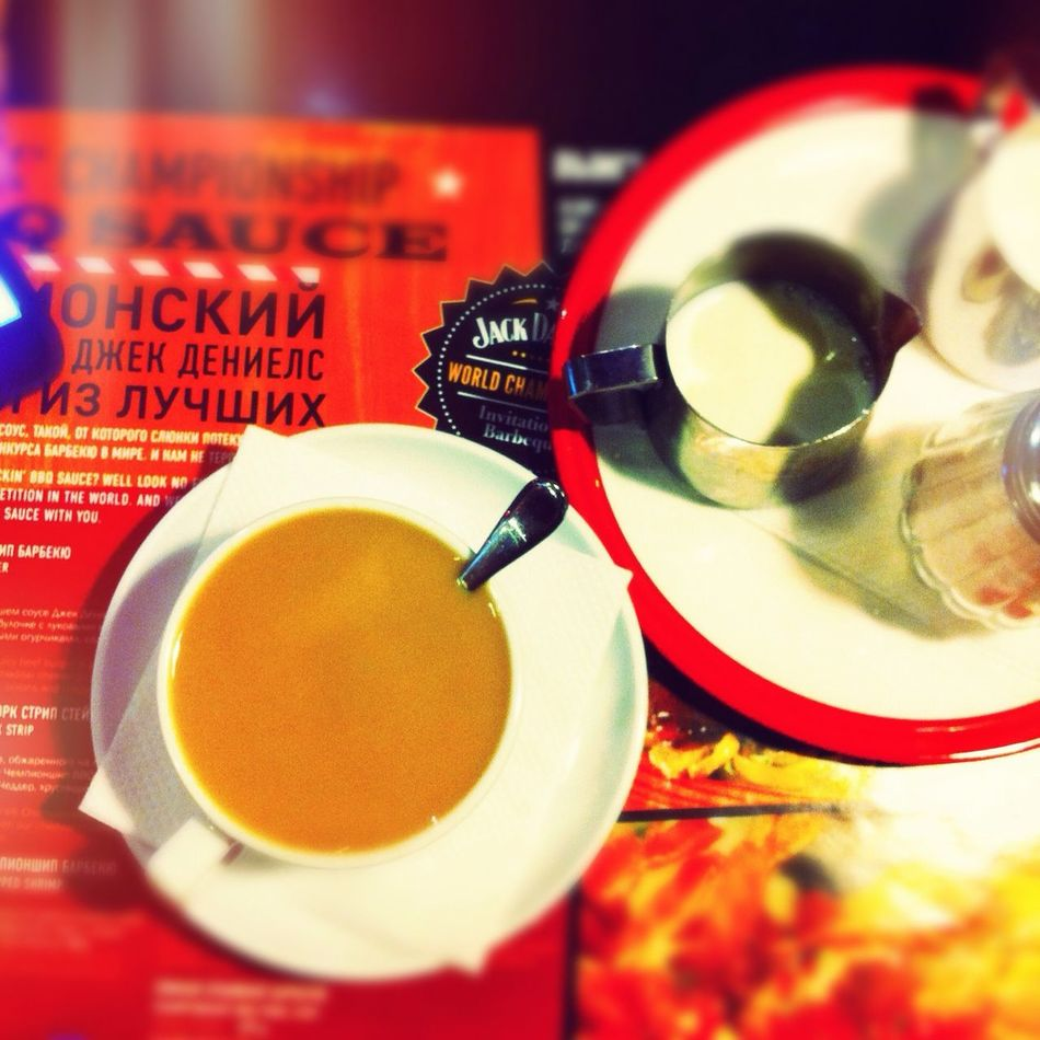 Coffee at T.G.I. Friday's Coffee