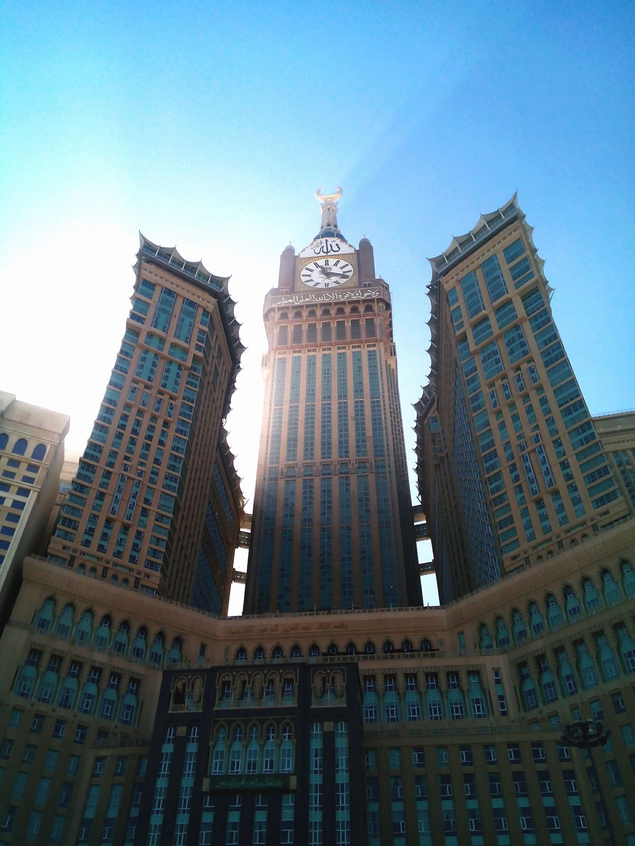 Zam zam tower.