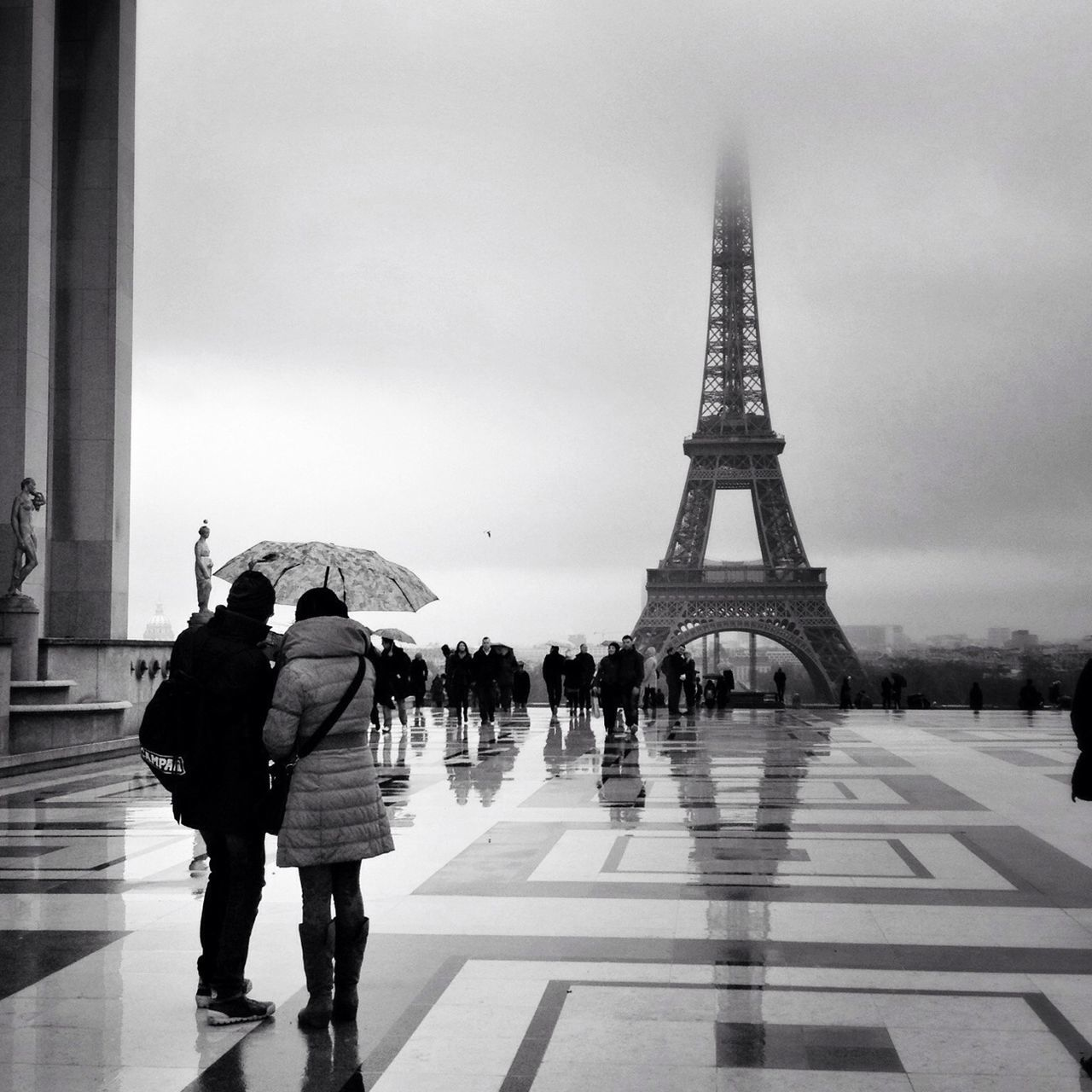 Beautiful stock photos of eiffel tower, Architecture, Built Structure, Capital Cities, City Life