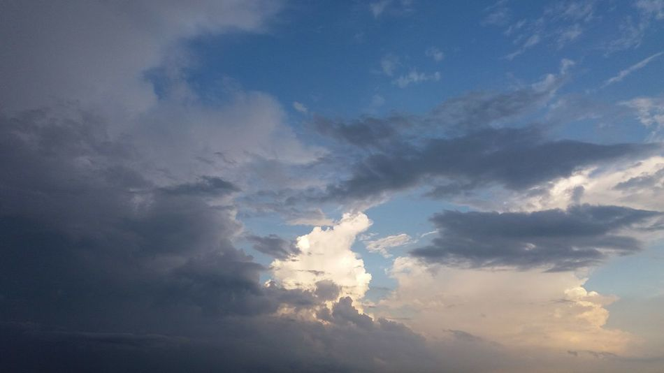 Storm Clearing _02 Backgrounds Beauty In Nature Cloud - Sky Cloudscape Day Fluffy Heaven Low Angle View Nature No People Outdoors Scenics Sky Sky Only Tranquility