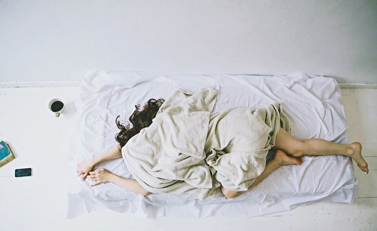 Mondaymorning Dontwannawakeup Bed Sleep Hatemornings Woman Pastel Power Interior Views A Bird's Eye View