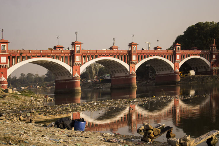 EyeEm Selects Lucknowdiaries Lucknow👌City Travel Destinations Pakka Pull Water River View Bridge
